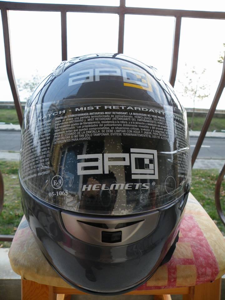APC шлем с Airbag въздушна възглавница нов шлем каска за мотор пистов.
