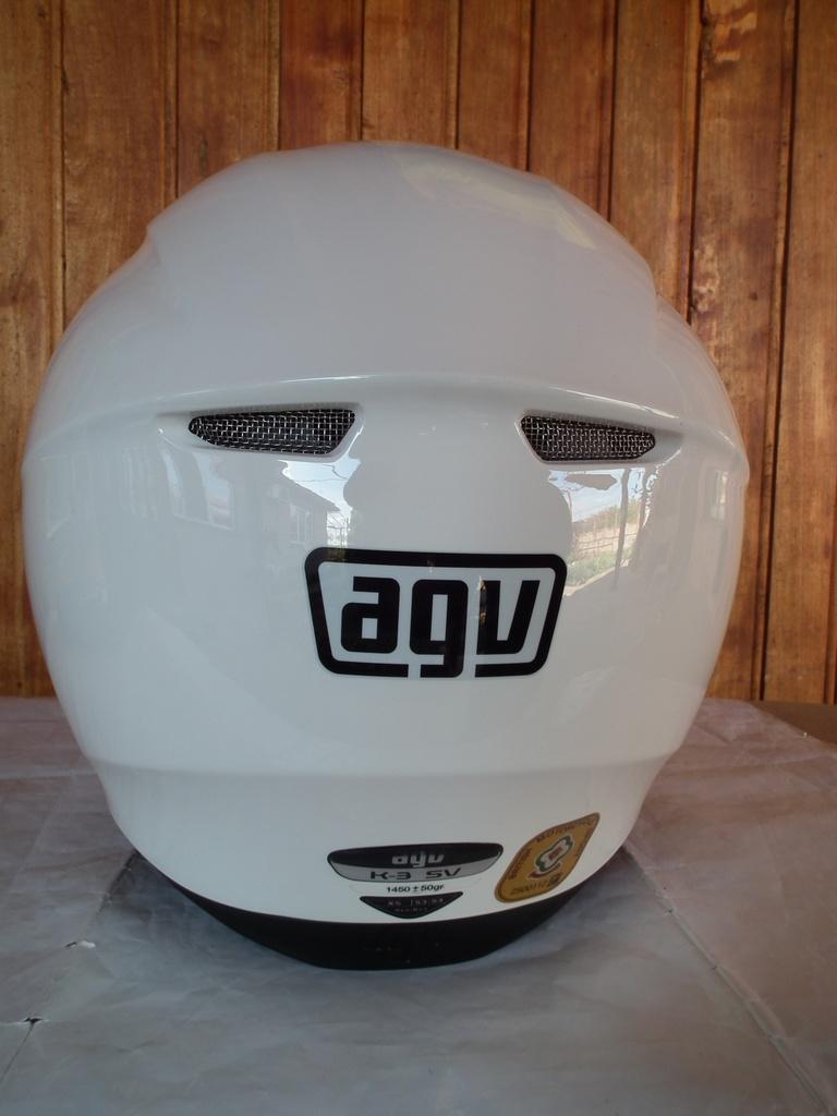 AGV K-3 SV с тъмни очила шлем каска за мотор пистов.