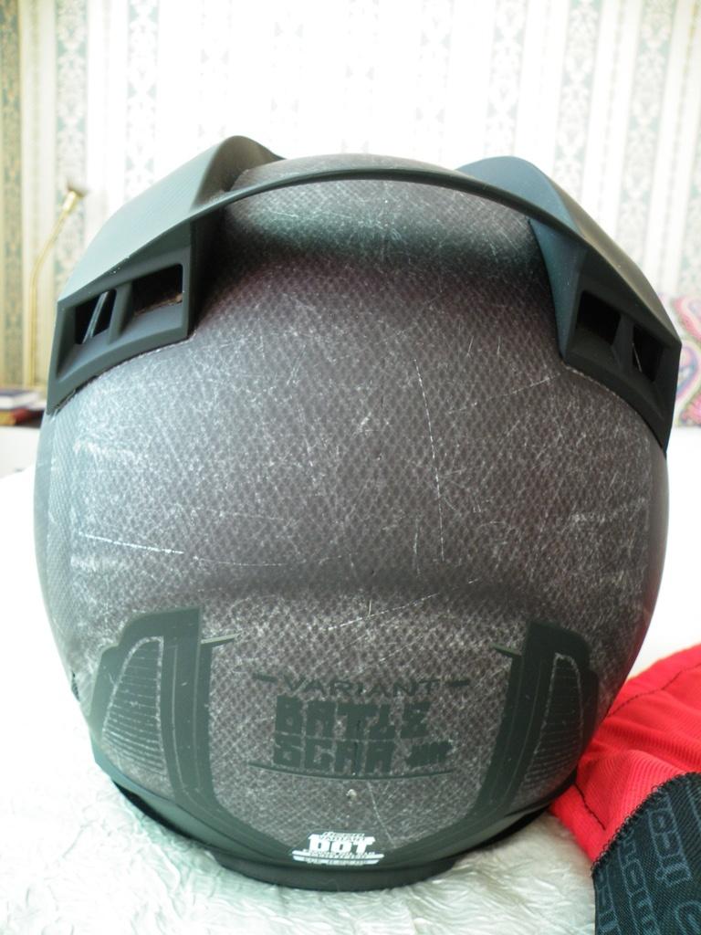 Icon Variant Battlescar Charcoal нов шлем каска за мотор ендуро мотокрос.
