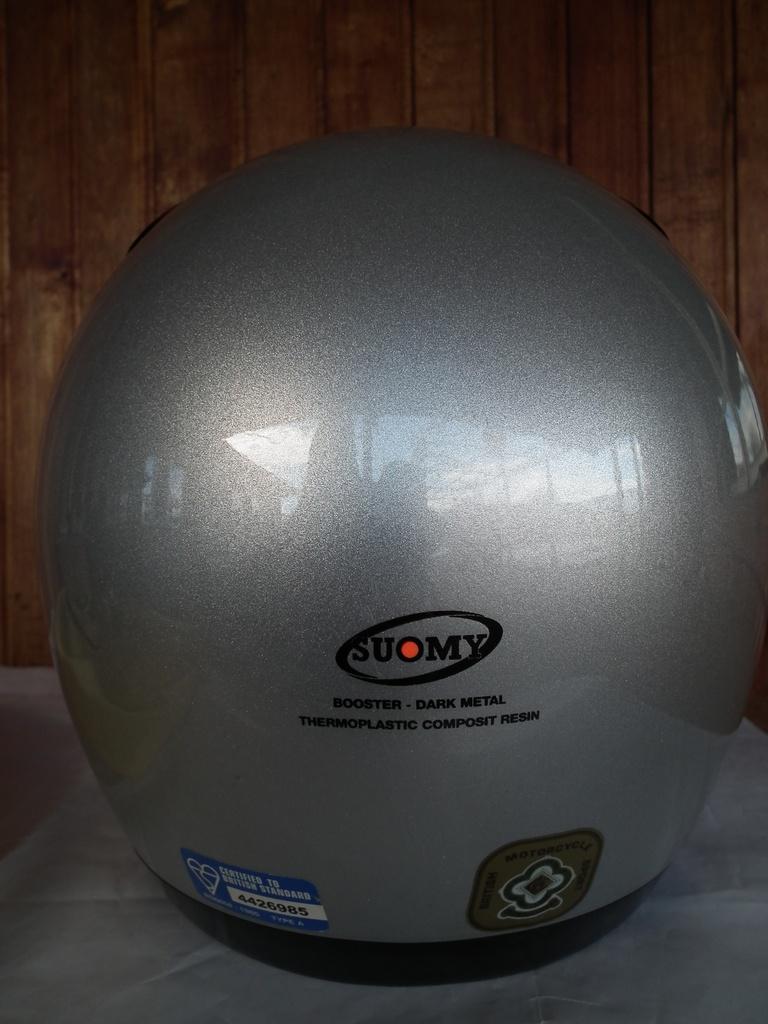 Suomy Dark Metal S шлем каска за мотор пистов.