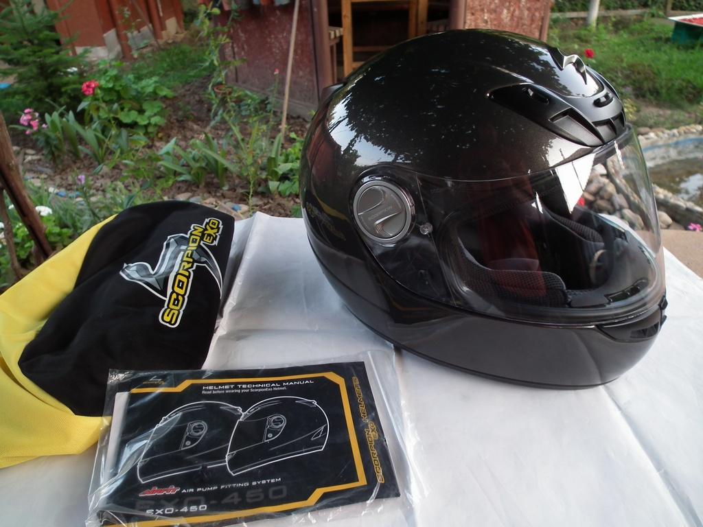 Scorpion Exo-450 с помпа мото шлем каска мотор пистов