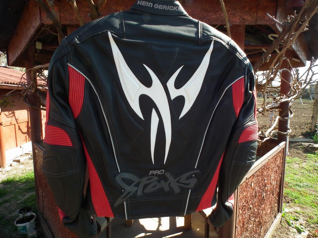 Hein Gericke Pro Sports кожено яке за пистов мотор tribal.