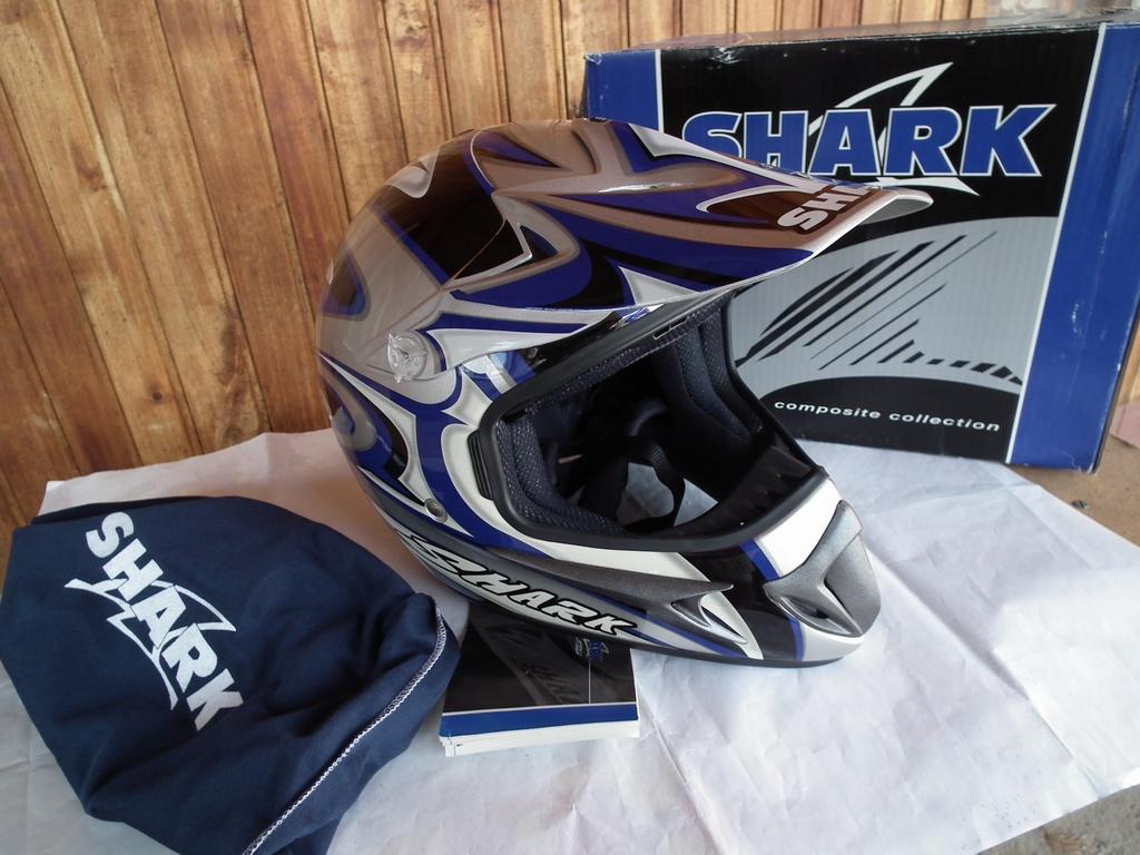 Shark MXR Factor4 нов шлем каска за мотор мотокрос.
