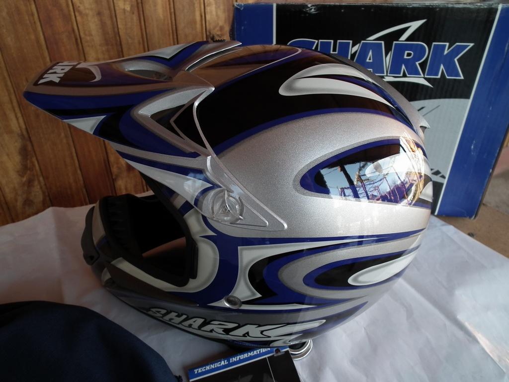 Shark MXR Factor4 нов шлем каска за мотор мотокрос