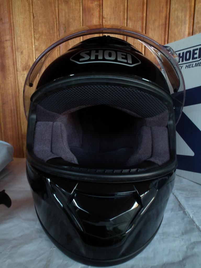 Shoei Qwest с микрофон и слушалки шлем каска за мотор пистов детски.