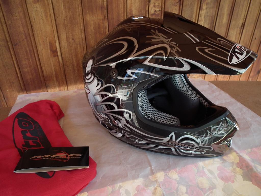 Nitro Rage MX419 мотокрос шлем каска мото мотор