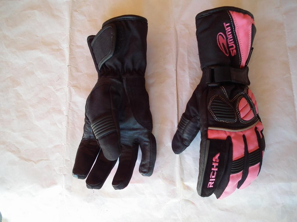 Richa Summit ръкавици за мотор дамски розови.