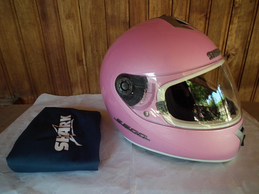 Shark S600 шлем каска за мотор пистов розов.
