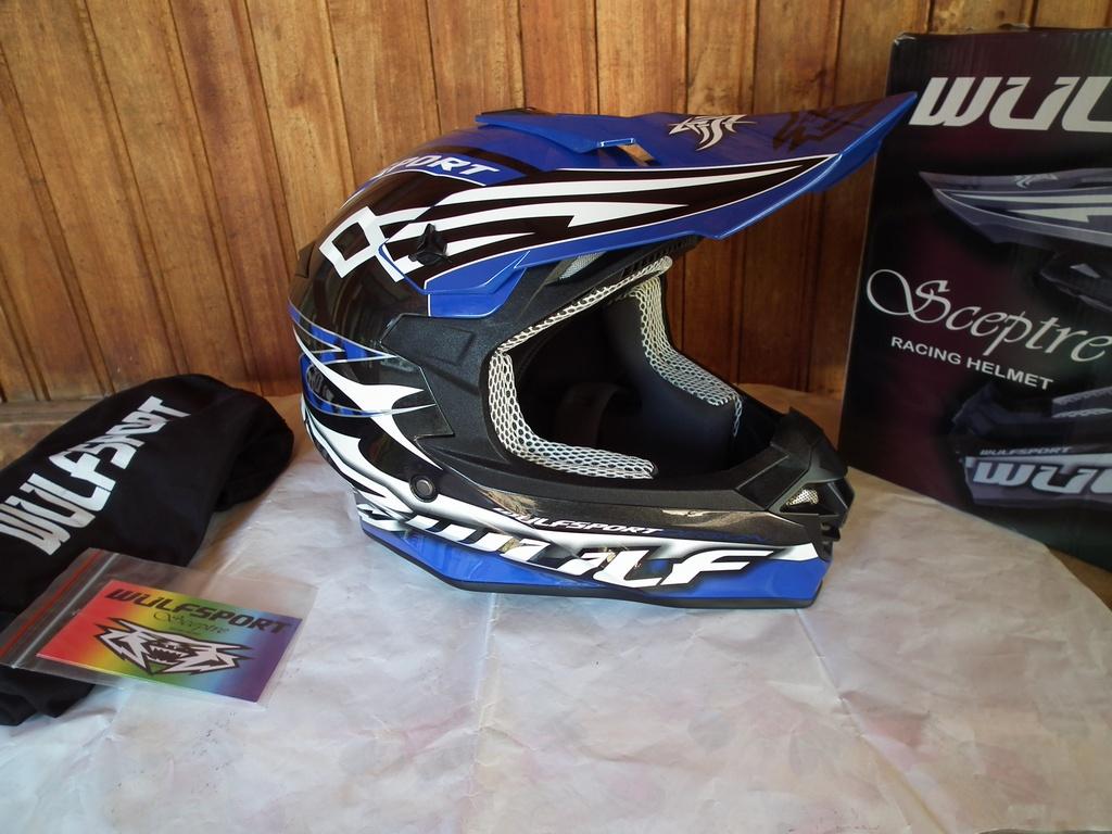 Wulfsport Sceptre нов шлем каска за мотор мотокрос.