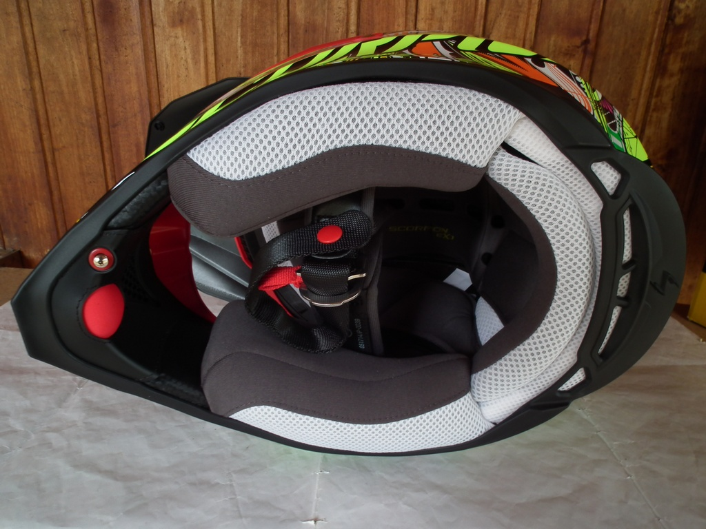 Scorpion VX-15 Evo Air Vector нов с помпа шлем каска за мотор мотокрос.