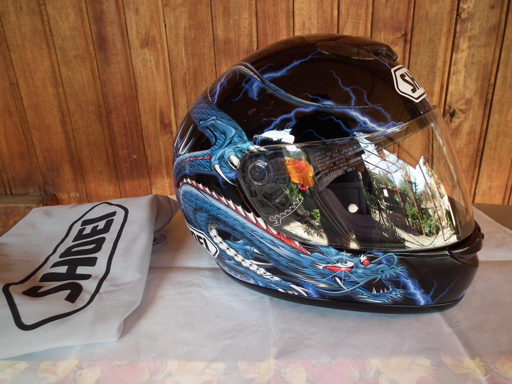 Shoei Raid 2 Kiyonari шлем каска за мотор с дракон пистов.