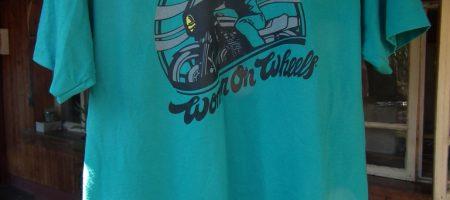 Women on wheels дамска тениска