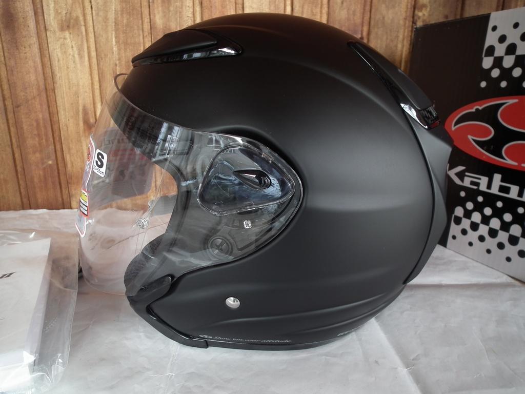 Kabuto Avand II нов японски шлем каска за мотор скутер чопър круйзър къстъм.