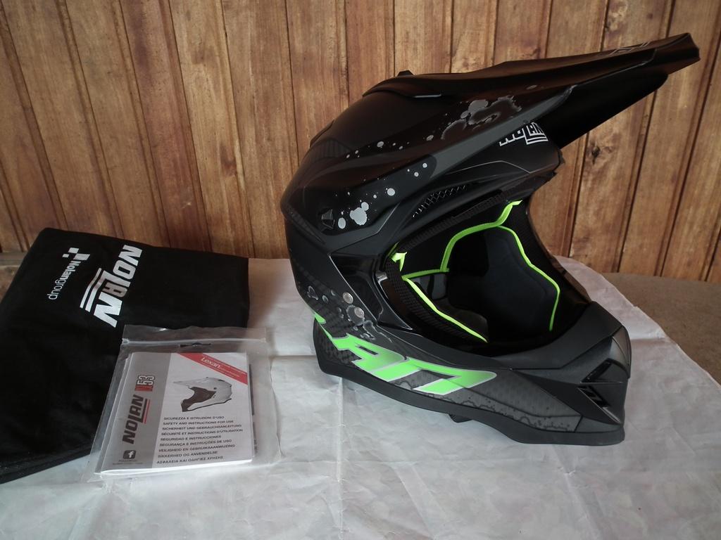 Nolan N53 мотокрос каска шлем за мотор.