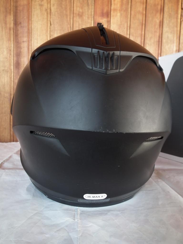 HJC IS-MAX II с микрофон и тъмни очила отварящ се мото шлем каска.