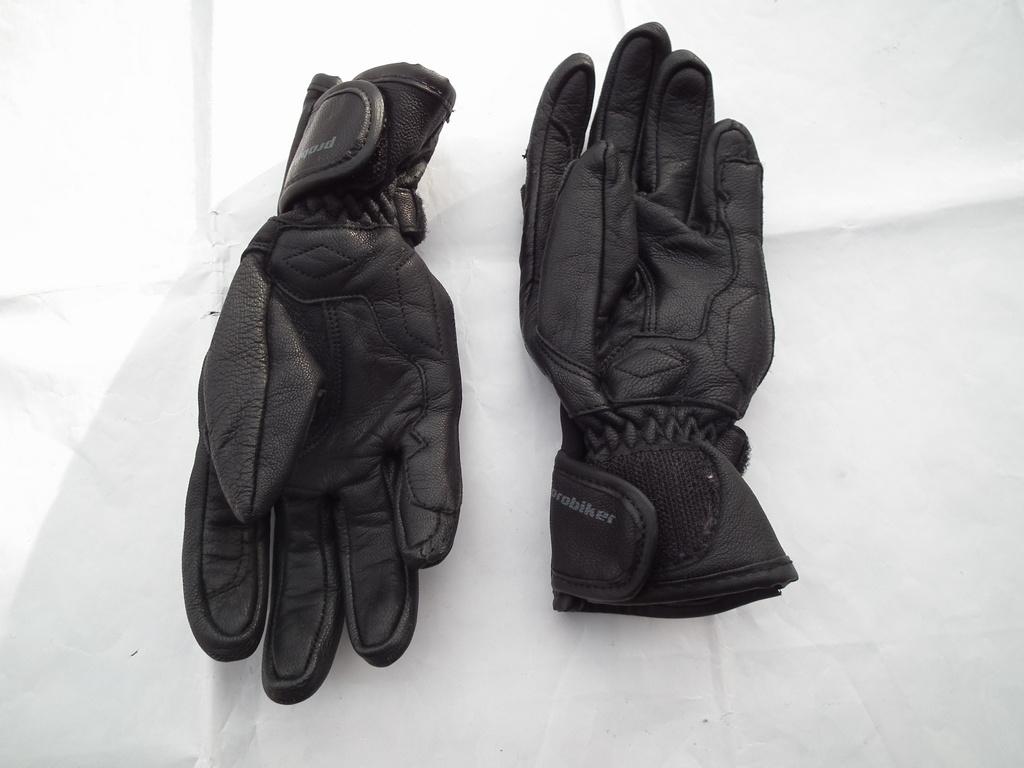Probiker Racing Kids II кожени детски мото ръкавици пистови.