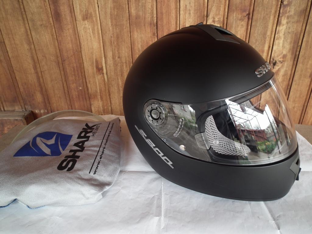 Shark S600 мото шлем каска за пистов мотор.