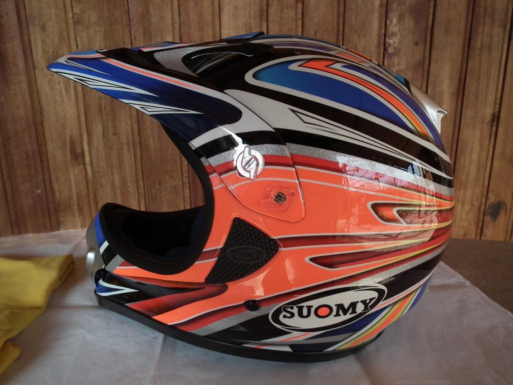 Suomy Spectre Black Diamond мото шлем каска за мотокрос.