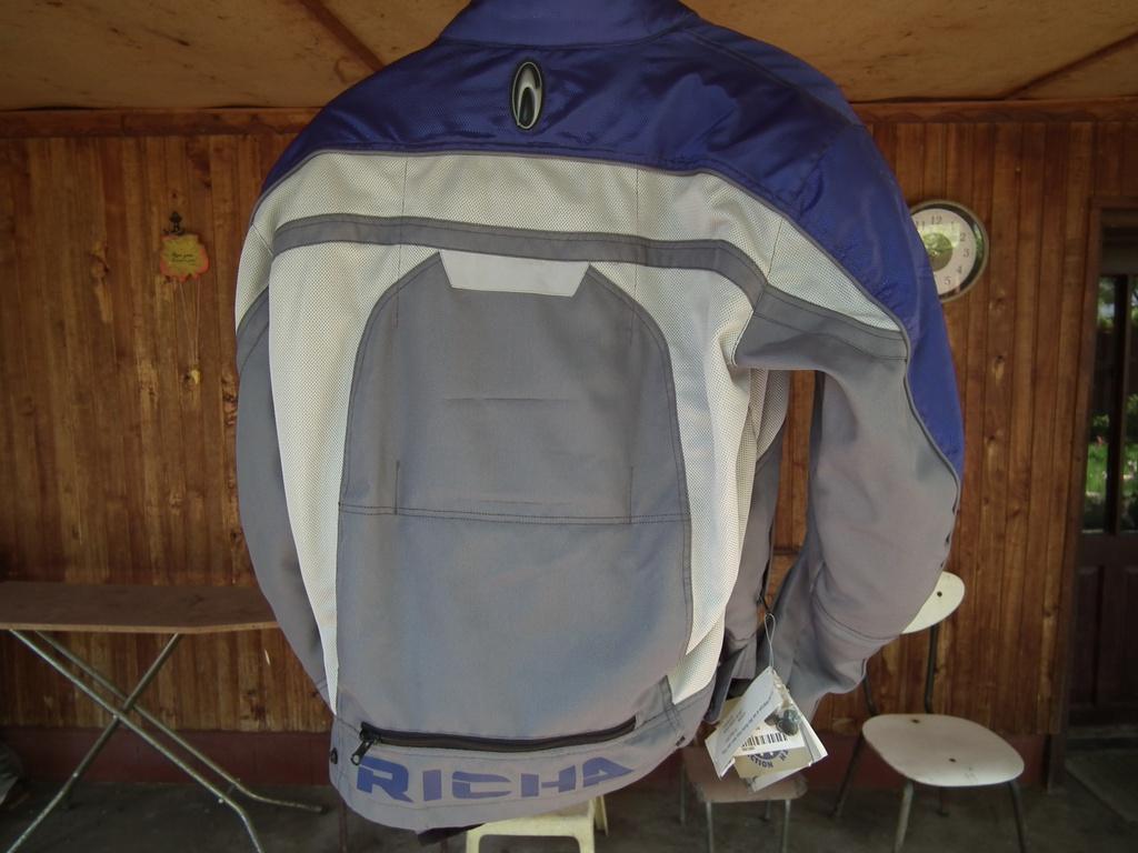 Richa ново яке за мотор текстилно пистово с жилетка за дъжд.