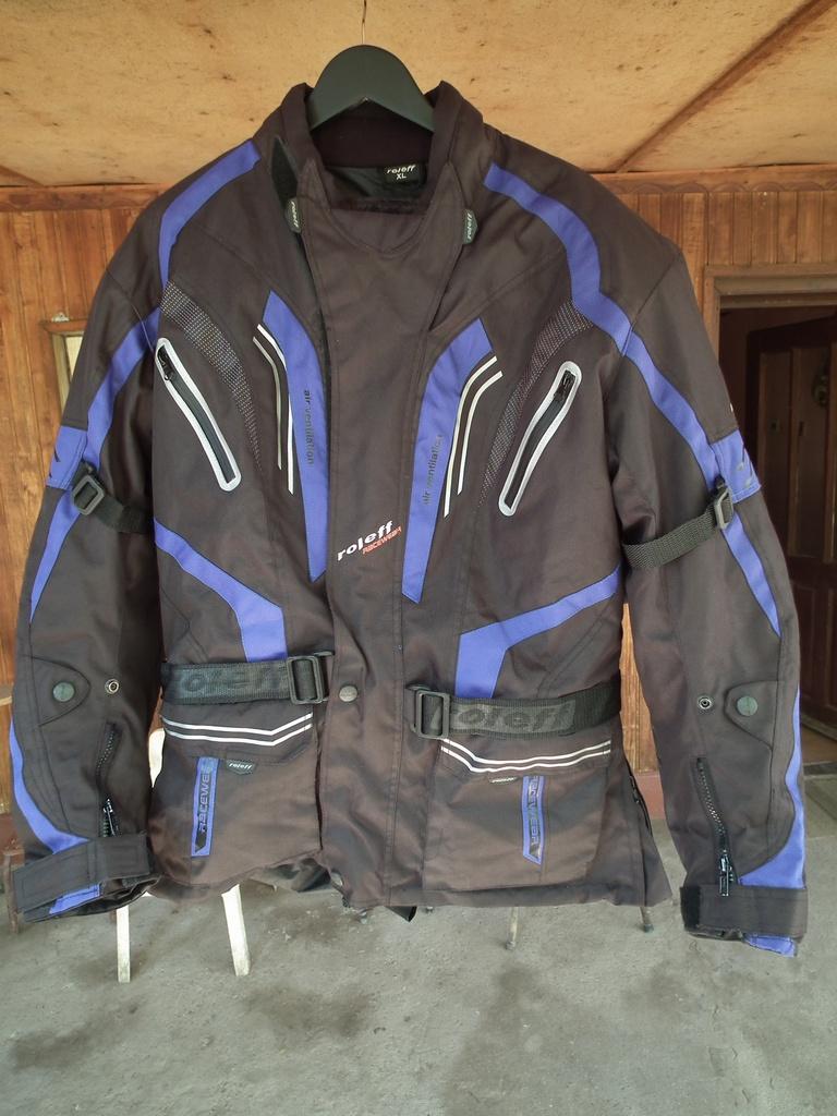 Roleff Racewear яке за мотор туристическо текстилно с протестори.