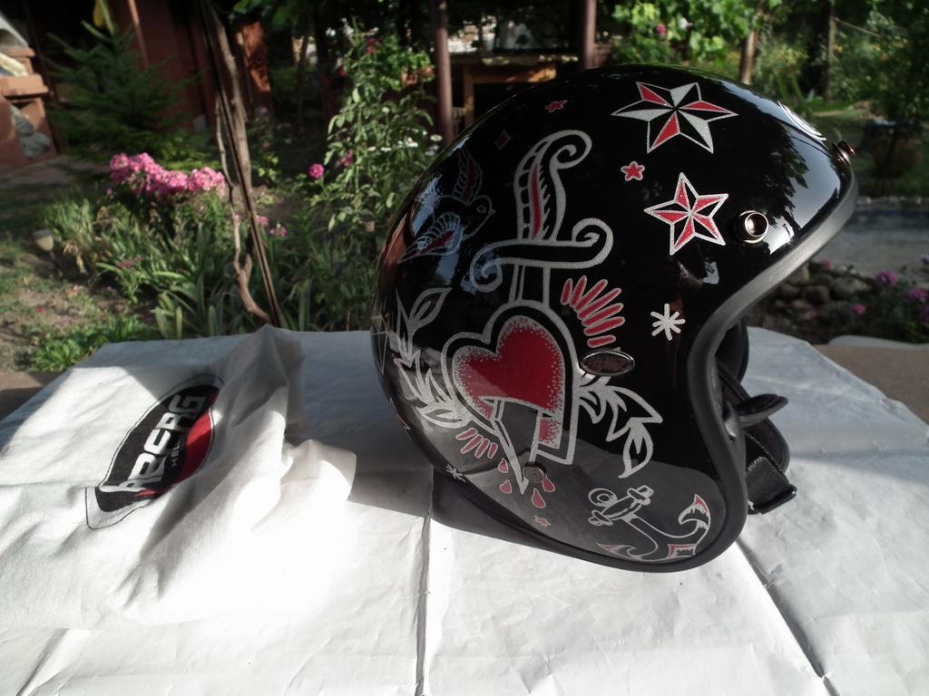 Premier шлем каска за мотор скутер чопър круйзър отворен.